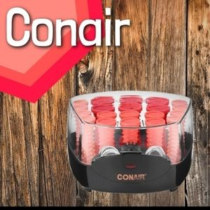 NWT CONAIR CURLS & WAVES COMPACT HOT ROLLER SET